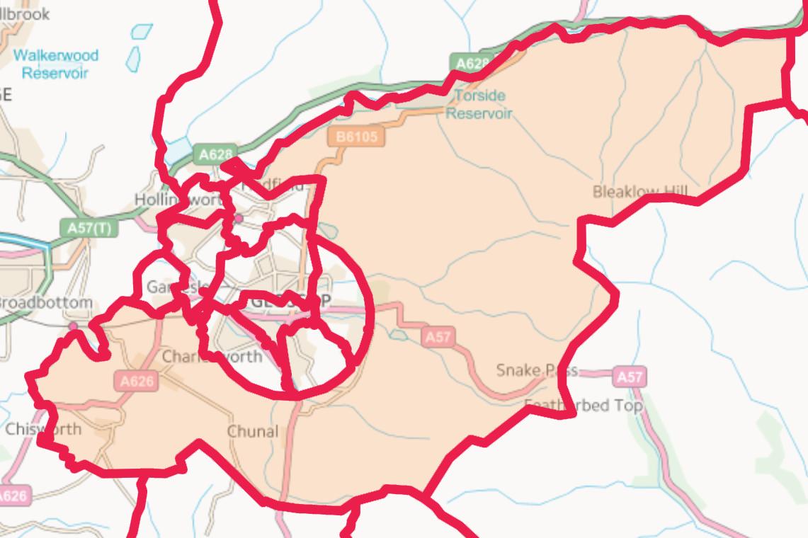 Map of St Johns Ward