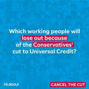 Universal Credit Cut